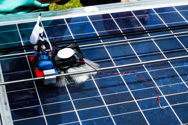 Solar Robot Innovation to Equip Energy industry -  Innovations for the Energy Industry during COVID-19